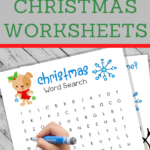 doggy christmas worksheets