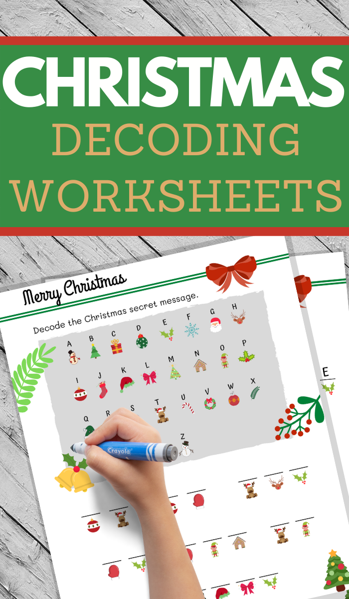 Christmas Decoding Worksheets