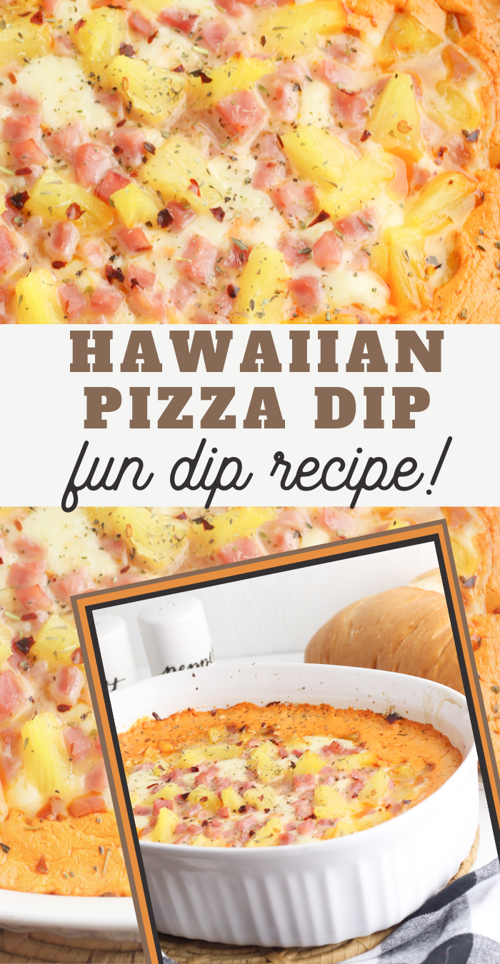 hawaiian pizza dip recipe