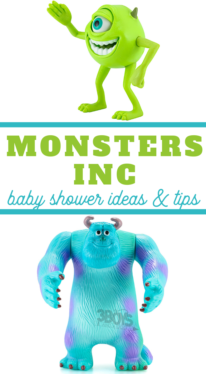 baby shower ideas for a monsters inc party