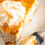 this southern living eggnog cheesecake recipe is the perfect Christmas dessert
