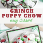 easy grinch chex mix recipe