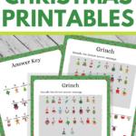 Grinch Decoding Worksheets for Christmastime
