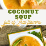 thai coconut curry chicken soup