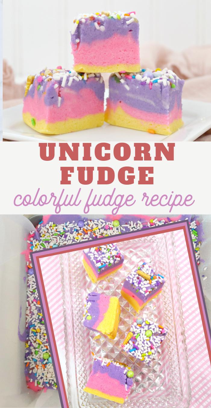 unicorn fudge recipe
