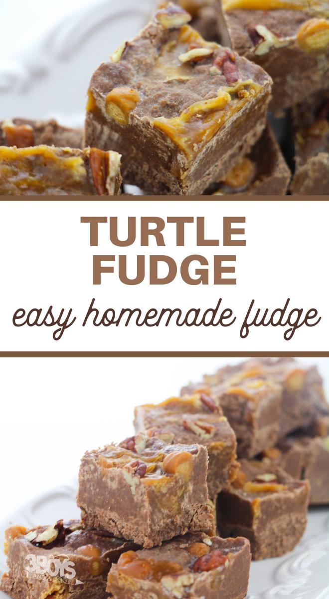 turtle fudge recipe
