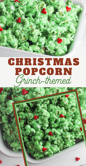 the grinch popcorn