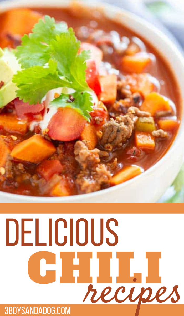 delicious and unique chili recipes