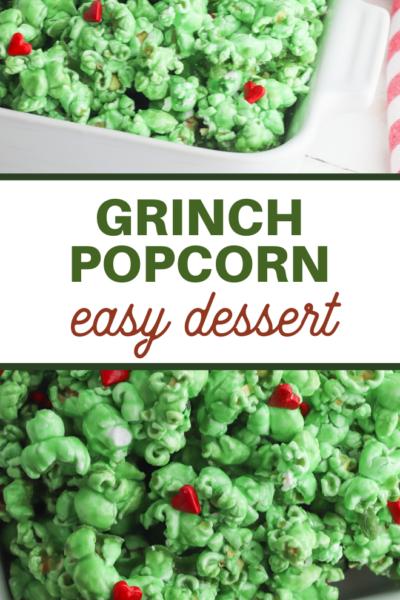 easy grinch popcorn recipe