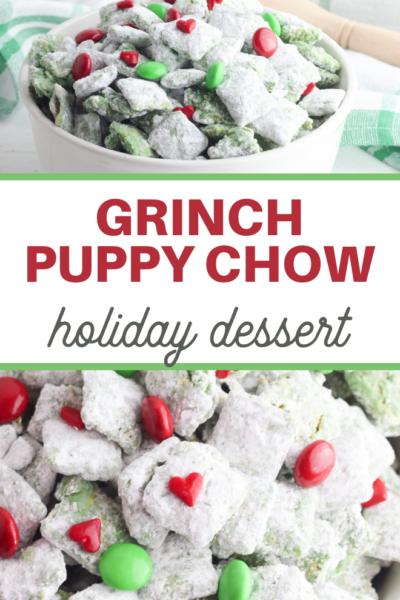Grinch Puppy Chow