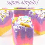 pink and purple fudge recipe