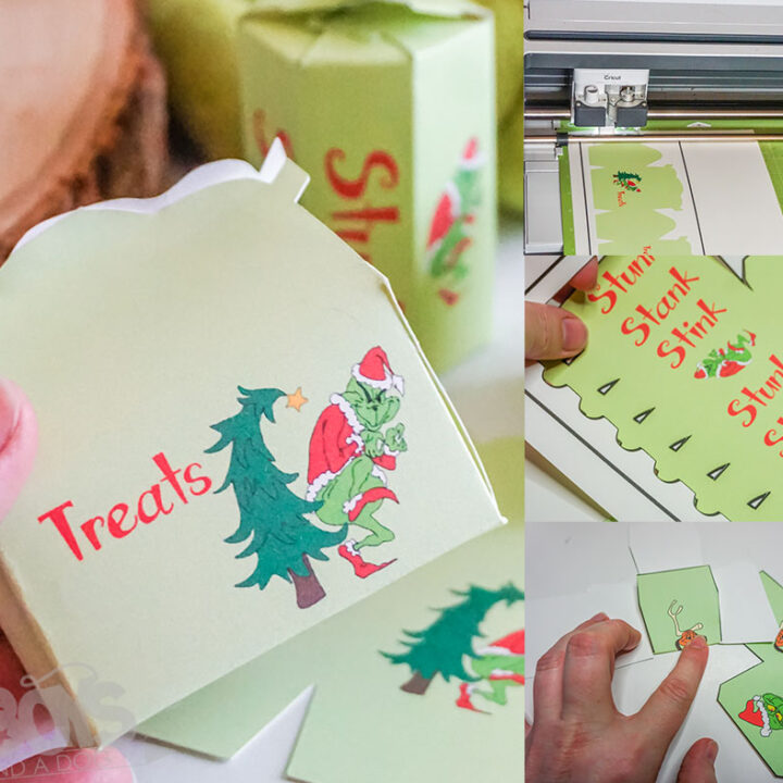 DIY Grinch Gift Boxes