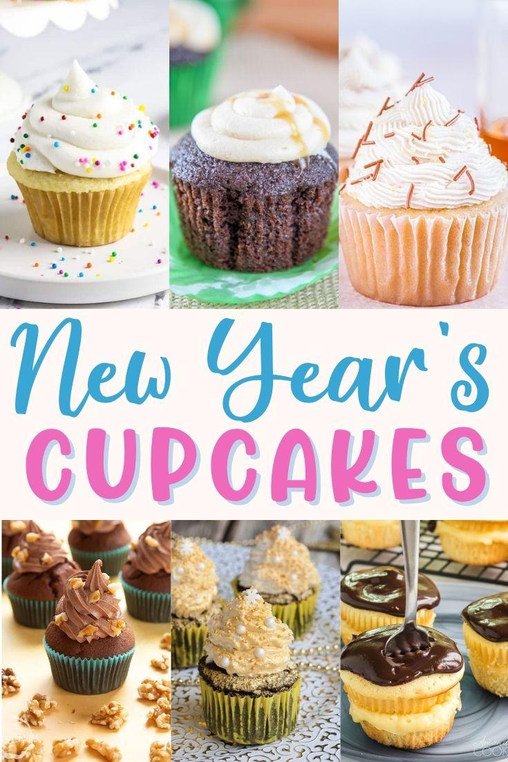 new years eve cupcake ideas