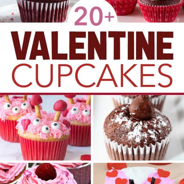 20 Valentine Cupcakes Everyone Will Love