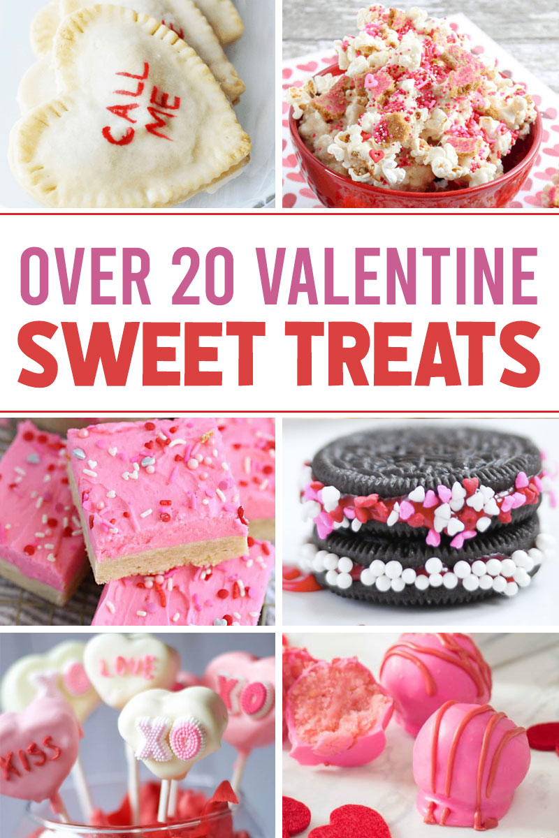 over 20 valentines day sweet treats