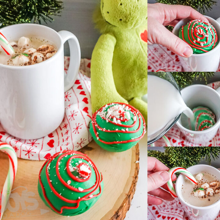 Grinch Hot Cocoa Bombs