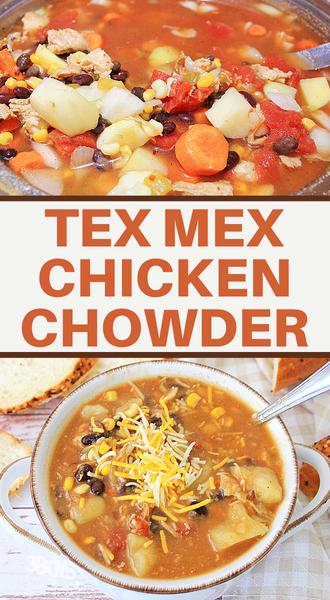 tex mex chicken corn chowder recipe