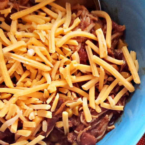 this slow cooker soup recipe comes together for a hearty weeknight dinner