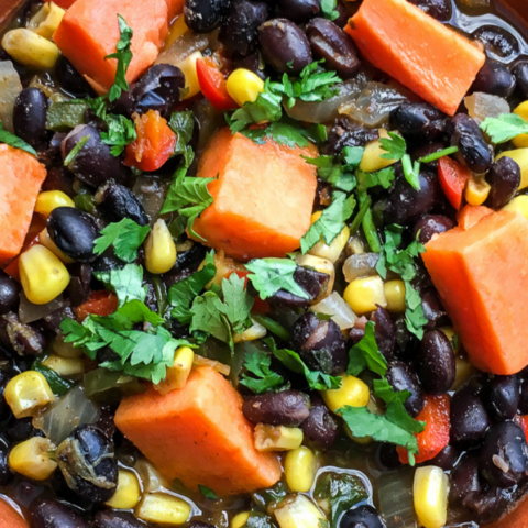 bean soup with butternut squash