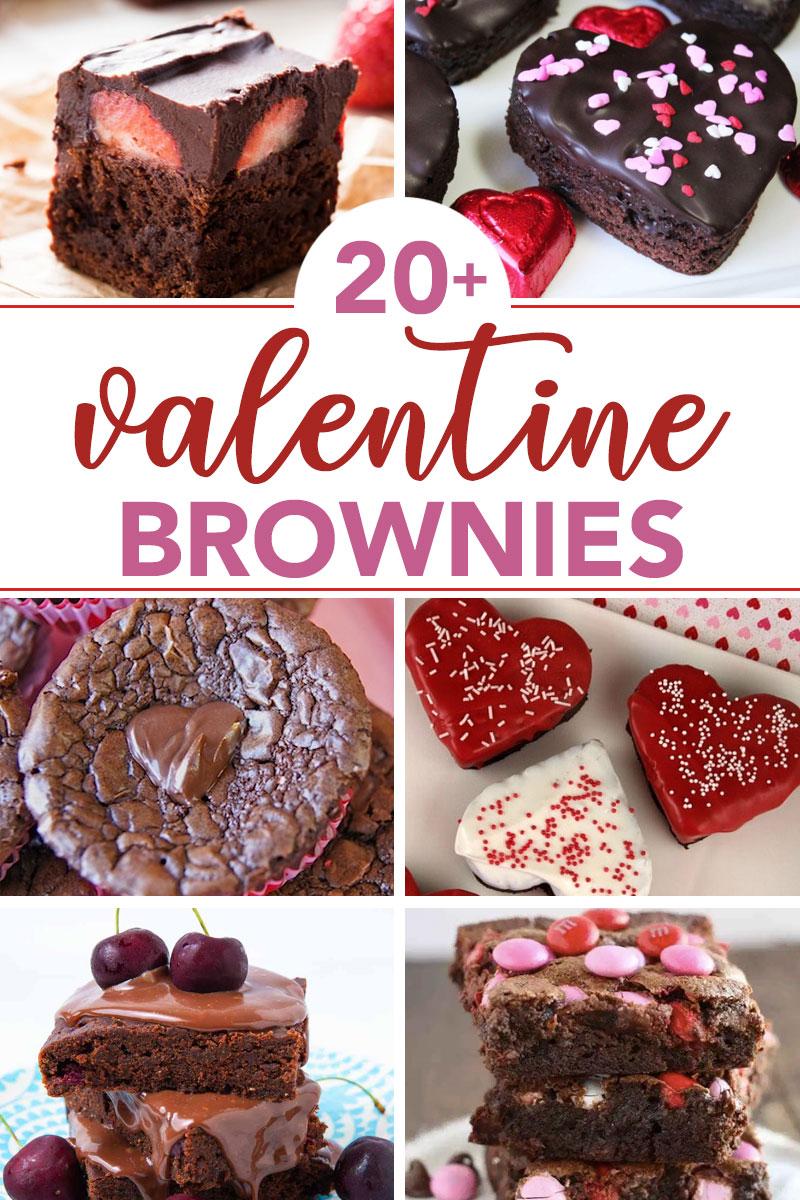 valentine brownie recipes