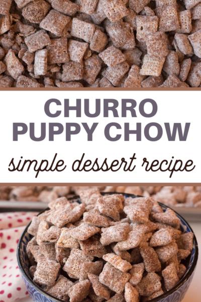 churro muddy buddy recipe