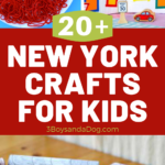 over 20 crafts about new york geography and history