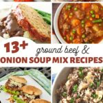 ground beef and onion soup mix recipes