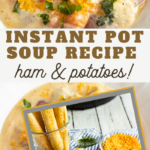 fast potato soup recipe with chunks of delicious ham
