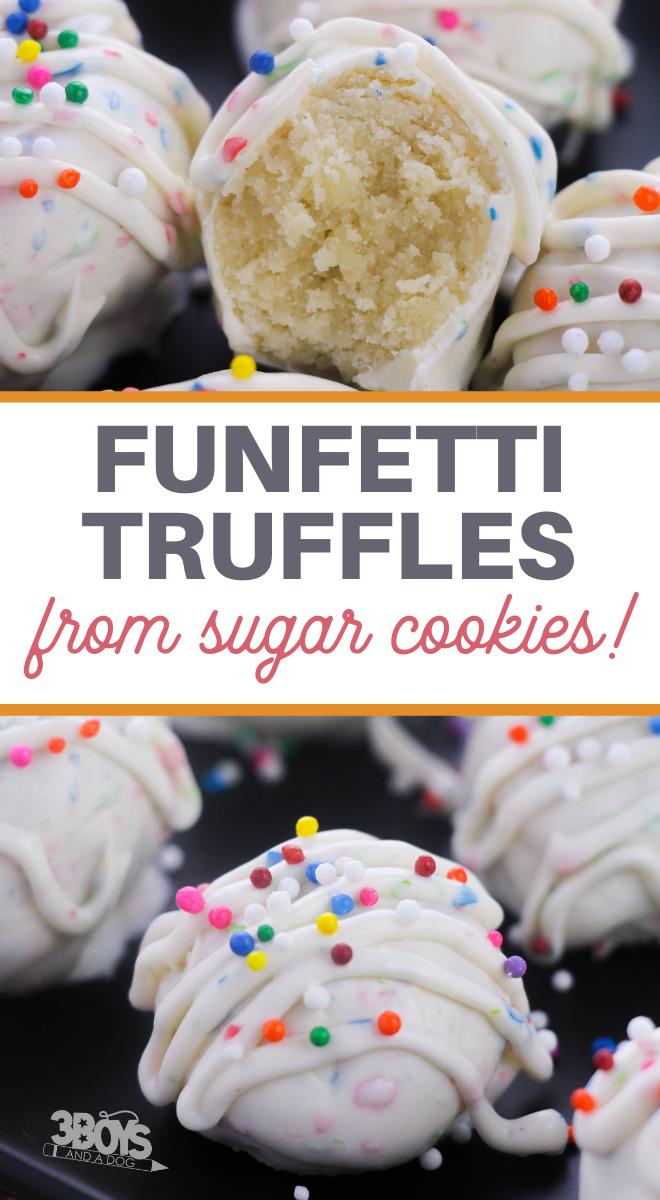 funfetti truffles recipe