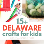 over 15 crafts about delaware geography and history