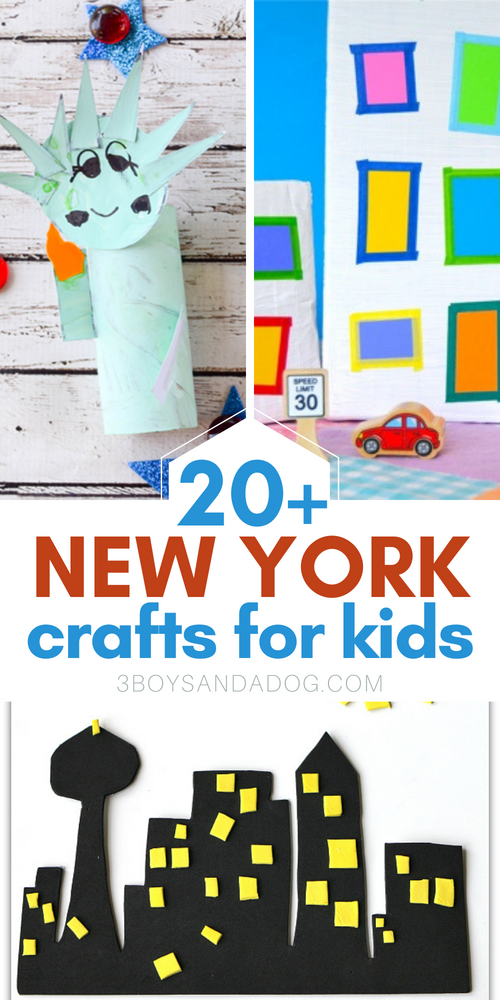 20 plus new york state themed crafts for kids