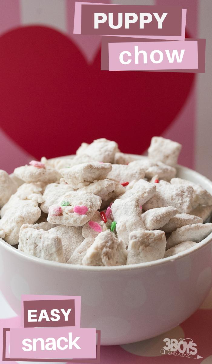 monkey munch recipe for valentines day