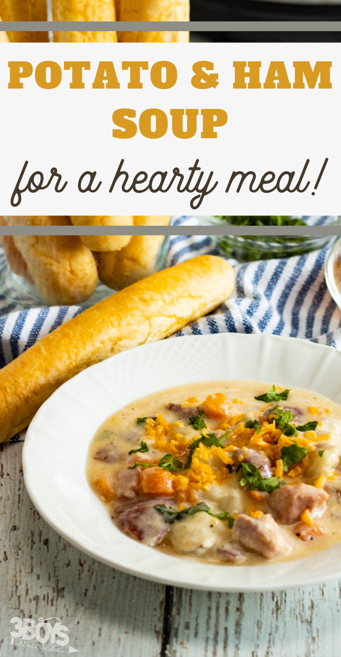 quick ham and potato soup recipe