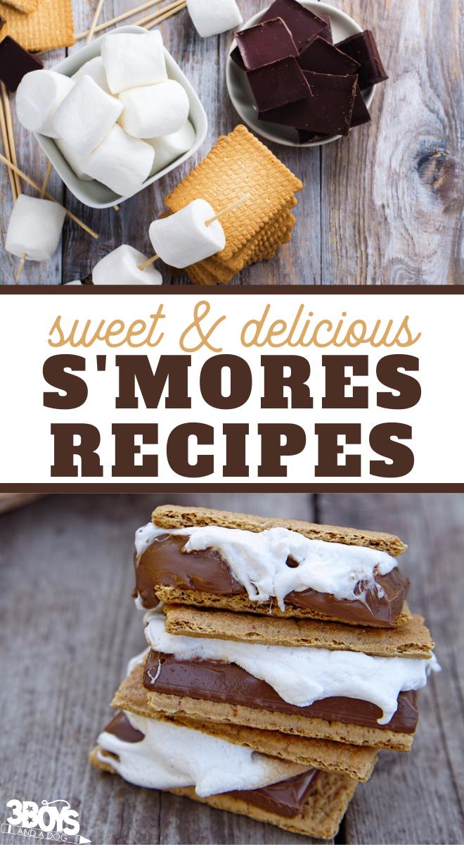 Amazing smores recipes