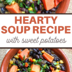 hearty soup with vegetables