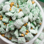st patricks day puppy chow