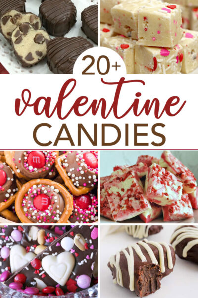 homemade candies for valentines day