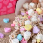 valentine day snack mix recipe