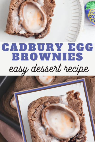 cadbury bunny approved brownie recipe