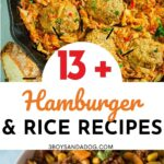 hearty ground beef and rice dinners