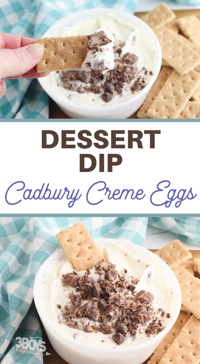 cadbury creme egg dip recipe