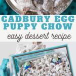 Cadbury Creme Egg Puppy Chow