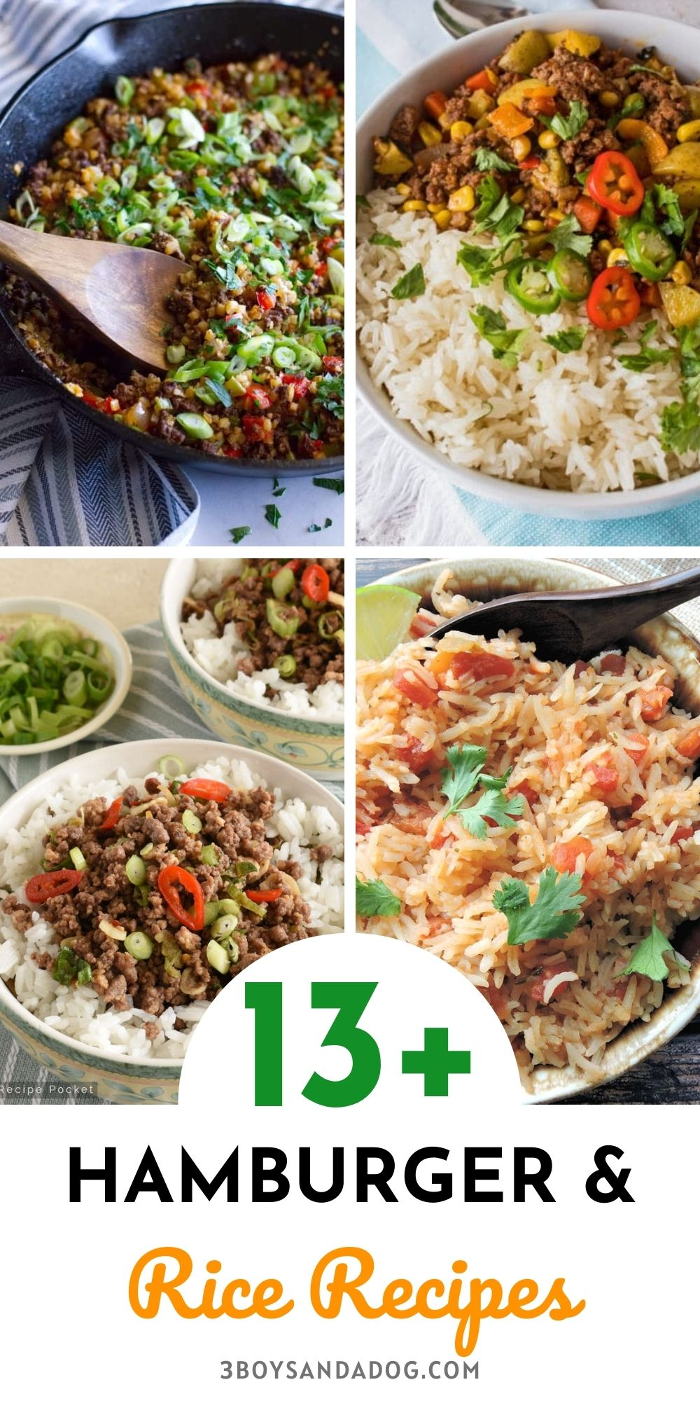 easy rice dishes with ground beef
