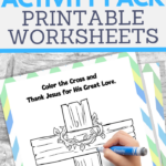 fun printable activities for kids to about Jesus and the real reason for easter