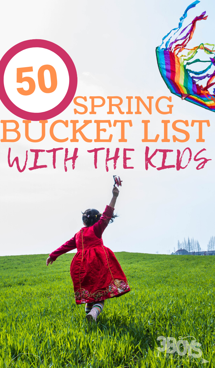 fun spring activities to do with your children