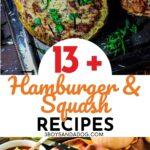 dinner recipes using hamburger meat and squash