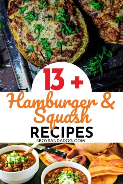 dinner recipes using hamburger meat and squash