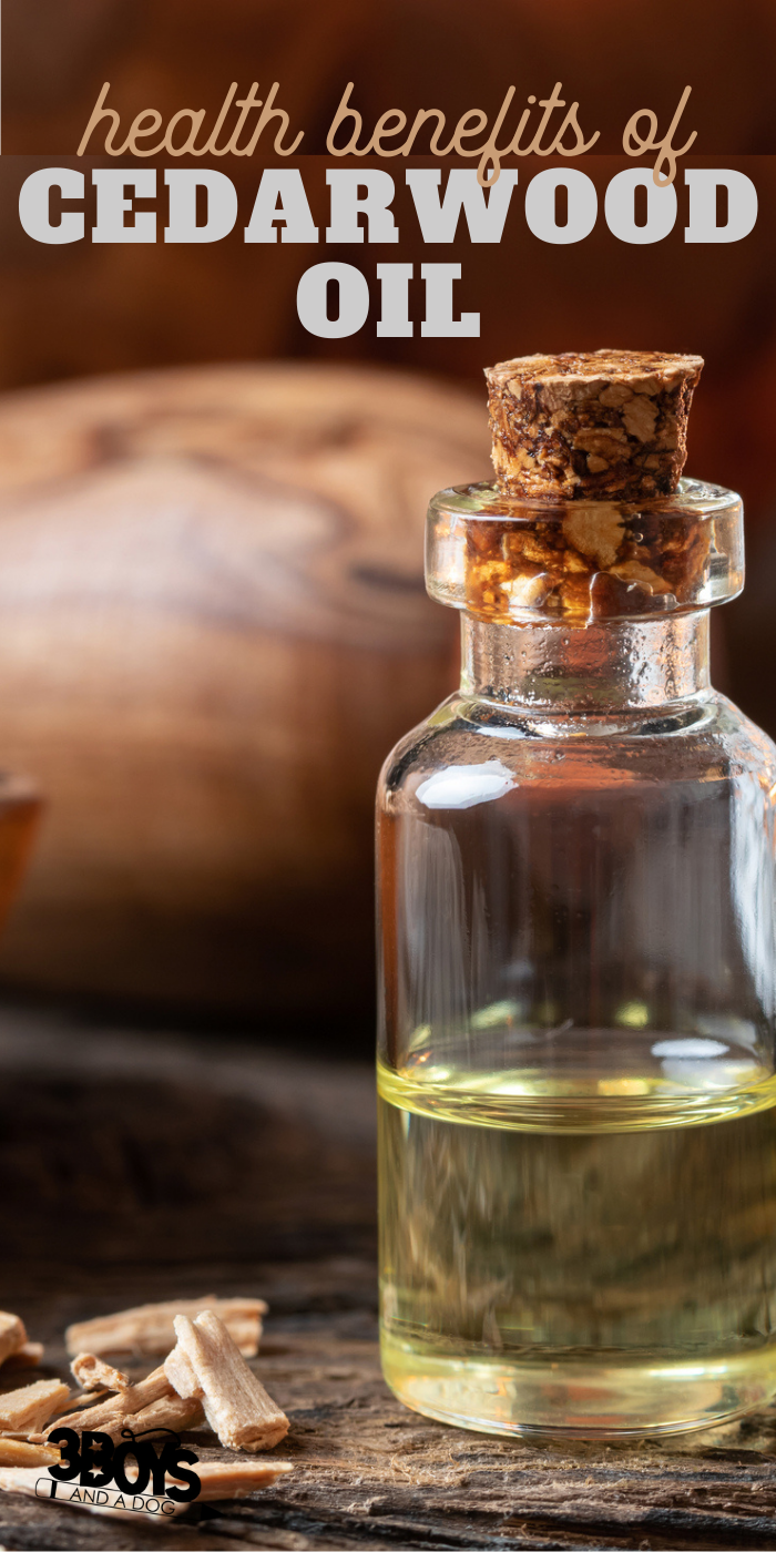 tons of great uses for cedarwood essential oil