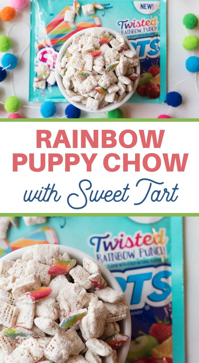 saint paddys day rainbow snack recipe