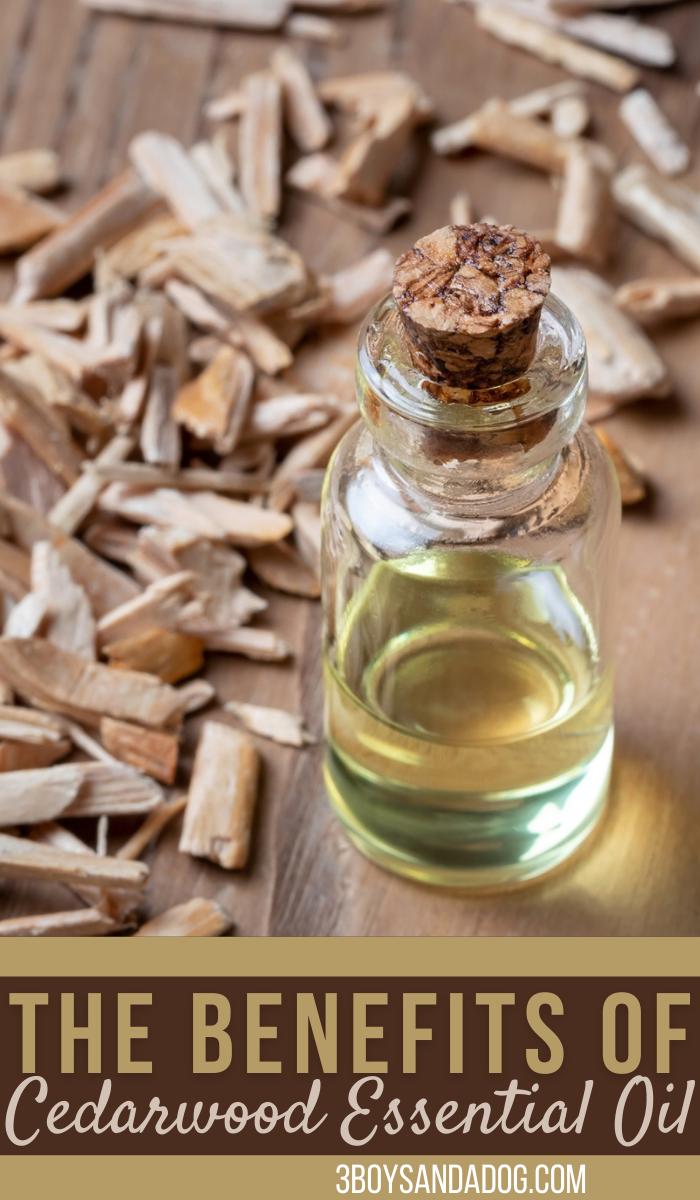benefits of cedarwood essential oils